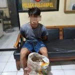 Polisi Amankan Pelaku Pencurian Besi di Puloampel