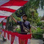 Lapak Bendera Merah Putih di Kota Serang Sepi Pembeli